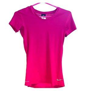 Nike pro hyper cool t-shirt xs magenta